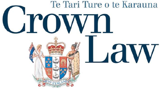Crown Law Office (New Zealand) - Image: Crown Law NZ logo