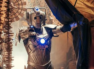 Cyberman Fictional race of cyborgs