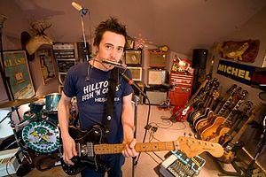 Danny Michel - Michel in his studio in 2011
