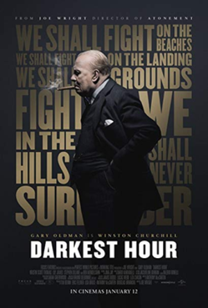 Darkest Hour (film) - Image: Darkest Hour poster
