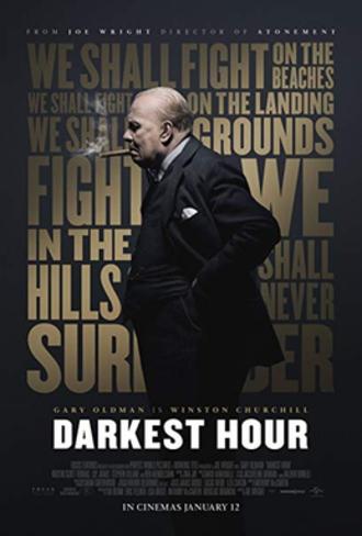 Darkest Hour (film) - Theatrical release poster