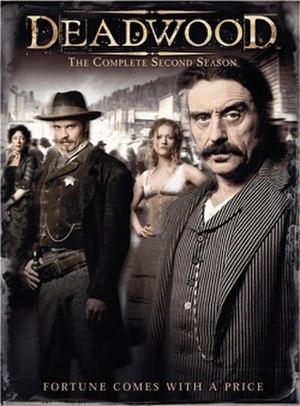 Deadwood (TV series) - Deadwood Season 2 DVD cover