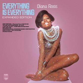 Everything Is Everything (Diana Ross album) - Image: Dianarosseverything