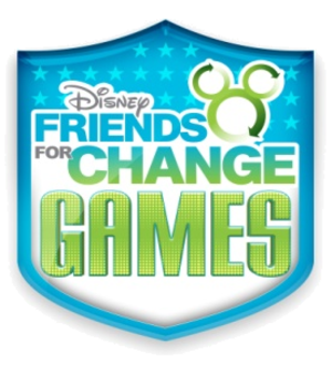 Disney Channel Games - Disney's Friends for Change Games logo