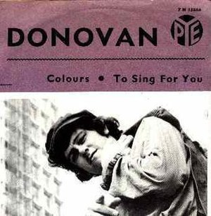 "Colours (Donovan song) - Swedish release of ""Colours"" single."