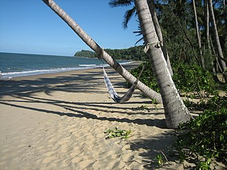Ellis Beach, Queensland - Ellis Beach – view south to Buchan Point