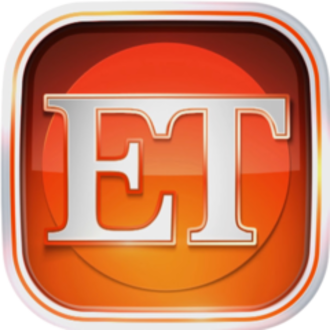 """Entertainment Tonight - Logo used until 2014; all on-air logos used since 1994 are based on the original 1981 logo, but have solely used the abbreviated """"ET"""" name."""