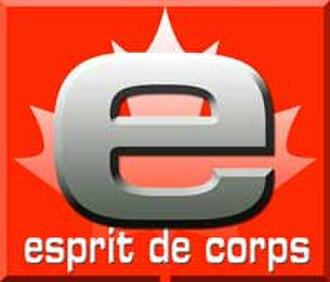 Esprit de Corps (magazine) - Image: Esprit de Corps (magazine logo)