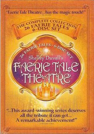 Faerie Tale Theatre - The 6-DVD box set cover by former distributor Starmaker II.