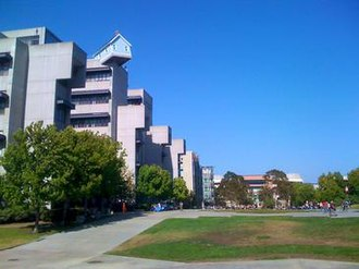 Jacobs School of Engineering - Fallen Star overlooks Warren Mall