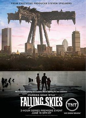 Falling Skies - Promotional poster of Falling Skies.