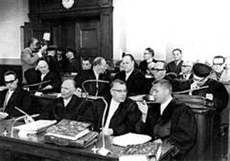 Sobibór trial - Image: Fe 9 Sobibor trial