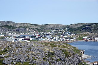 Fogo, Newfoundland and Labrador - Image: Fogo from brimstone head