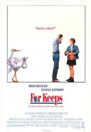 For Keeps (film) - Theatrical release poster