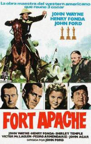Fort Apache (film) - Theatrical release poster