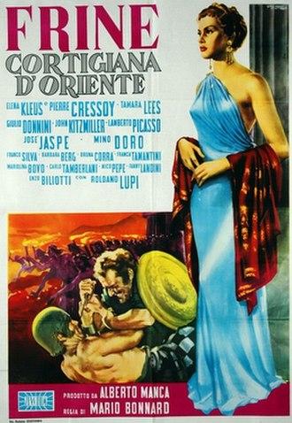 Frine, Courtesan of Orient - Image: Frine, Courtesan of Orient poster