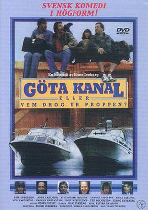 Göta kanal eller Vem drog ur proppen? - Swedish DVD-cover.