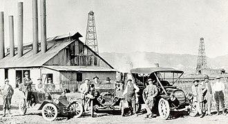 Gilmore Oil Company - Image: Gilmore Oil 1914