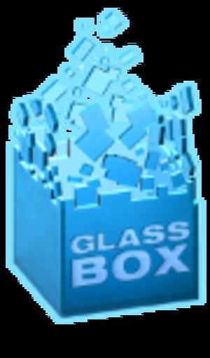 SimCity (2013 video game) - GlassBox logo