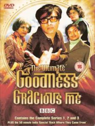 Goodness Gracious Me (BBC) - DVD cover