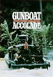 <i>Gunboat</i> (video game) 1990 video game