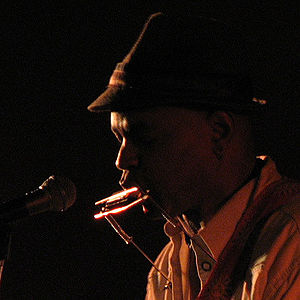 Guy Davis (musician) - Guy Davis at Hugh's Room in Toronto