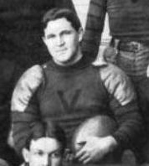 Harris T. Collier - Collier as Virginia team captain in 1898