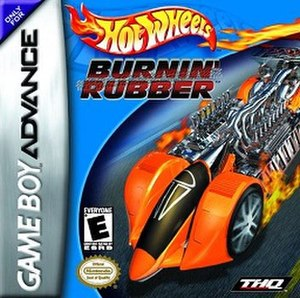 Hot Wheels: Burnin' Rubber - Cover art