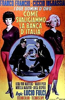<i>How We Robbed the Bank of Italy</i> 1966 film directed by Lucio Fulci