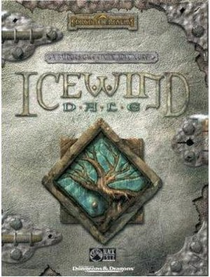 Icewind Dale - Image: Icewind dale 1 box shot