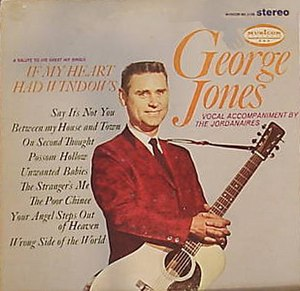 If My Heart Had Windows (George Jones album) - Image: If My Heart Had Windows