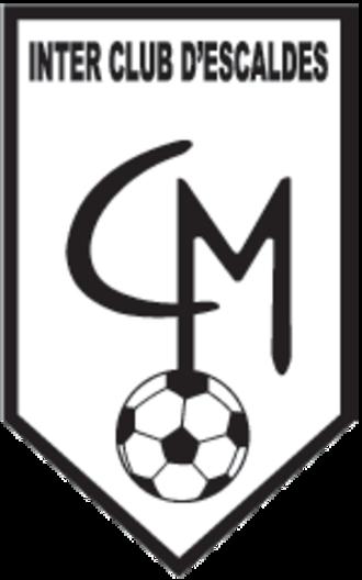 Inter Club d'Escaldes - Image: Inter Club d'Escaldes LOGO 86