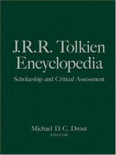 <i>J.R.R. Tolkien Encyclopedia</i> Scholarly work by Michael D. C. Drout