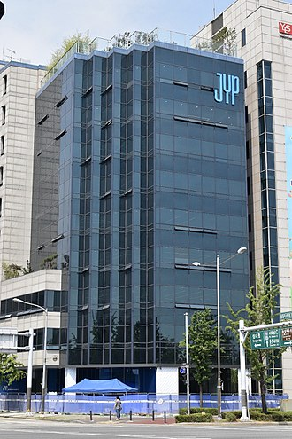 JYP Entertainment - JYP building in the Gangdong District