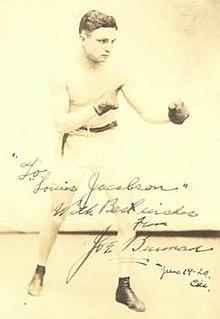 Joe Burman British born American boxer (1898–1979)