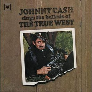 Sings the Ballads of the True West - Image: Johnny Cash True West