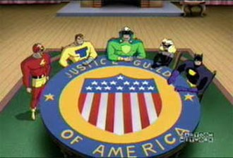 Justice Guild of America - Justice Guild as shown in the Justice League series