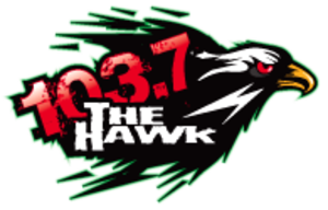 KMHK - Image: KMHK 103.7The Hawk logo