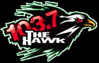KMHK - Image: KMHK 103.7The Hawk logo