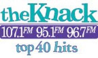 KNKK - Image: KNKK the Knack 107.1 95.1 96.7 logo