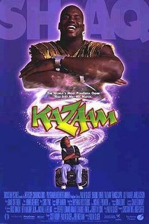 Kazaam - Theatrical release poster