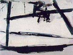 Franz Kline, Painting Number 2, 1954