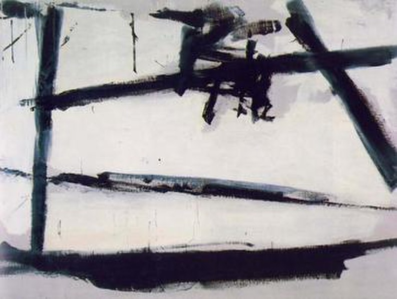 Franz Kline, Painting Number 2, 1954, The Museum of Modern Art - Wikipedia