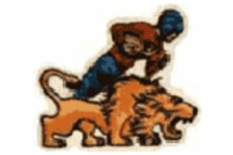 History of the Detroit Lions - Primary Logo, 1952–1960.