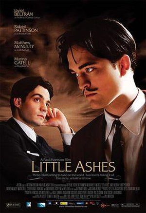 Little Ashes - Theatrical release poster