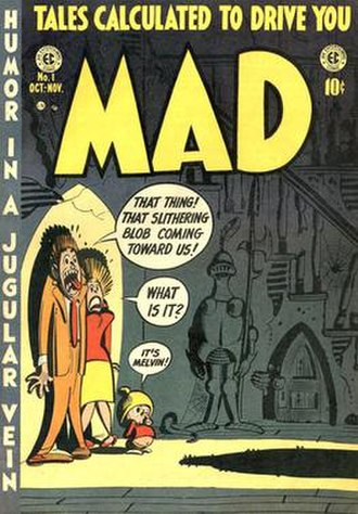 Harvey Kurtzman - Kurtzman is best known for creating Mad in 1952.