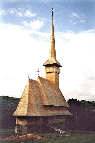 Maramureș County - Typical Wooden Church in Maramureș