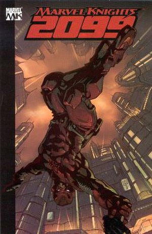 Marvel Knights - Cover to Marvel Knights 2099: Daredevil.