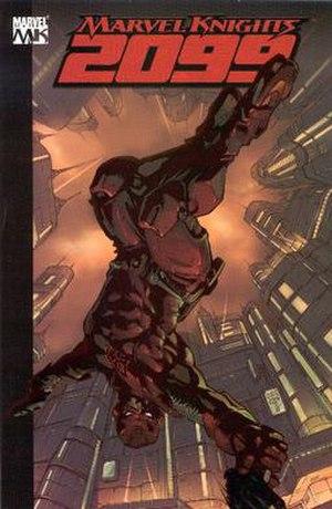 Marvel Knights - Cover to Marvel Knights 2099: Daredevil.