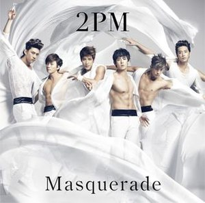 Masquerade (2PM song) - Image: Masquerade Regularcover